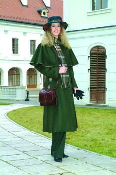 Elegáns női vadász megjelenések a napi trendeknek megfelelően.
