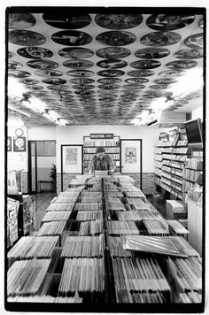 Old Record Store - Vinyl LP's - Picture Discs And 45 RPM Records - Break out your old Turntable!