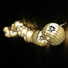 Pittsburgh Penguins Team Lanterns & Lights Set must get if we get to playoffs!!!