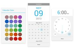 Google Calendar for Android adds color highlighting, date and time picker tweaks