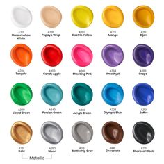 Outdoor Acrylic Paint, 59ml Bottles - Set of 20 | ARTEZA Outdoor Acrylic Paint, Acrylic Paint Set, Acrylic Colors, Outdoor Painting, Acrylic Art, Diy Arts And Crafts, Paper Crafts, Fall Crafts, Just Shop