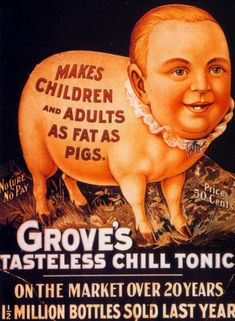 Oh, boy! We want some of THAT! Weird Vintage Ads via Dark Roasted Blend