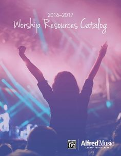 Add even more worship songs and hymns to your collection and check out our new Worship Resources Catalog featuring guitar & piano worship songbooks, Alfred Music's Sacred Performer Series, and so much more!