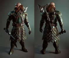 Dwarf Dwalin Realtime Fan art Unreal engine 4