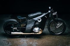 BMW R100/7 'Landspeeder' by Revival Cycles inspired by Ernst Henne's record-breaking 1928 BMW R37 Landspeeder
