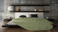 45 Cool Headboard Ideas To Improve Your Bedroom Design - http://freshome.com/headboard-Ideas-to-improve-your-bedroom-design/