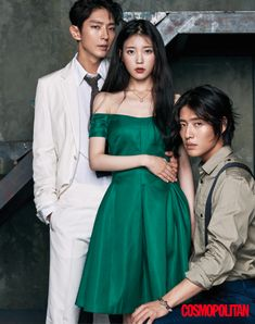 "Lee Joon Gi, IU and Kang Ha Neul - Cosmopolitan Korea Magazine featuring the ""Scarlet Heart: Ryeo"" Cast Lee Jun Ki, Lee Joongi, Moon Lovers Scarlet Heart Ryeo, Scarlet Heart Ryeo Cast, Cha Eun Woo, Asian Actors, Korean Actors, Korean Dramas, Korean Celebrities"