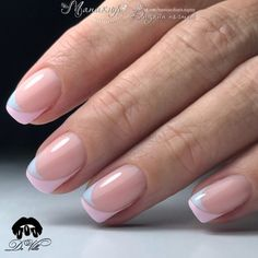 Wedding Nails-A Guide To The Perfect Manicure – Page 7121576050 – NaiLovely Nagellack Design, Nagellack Trends, Gel French Manicure, French Tip Nails, Elegant Nails, Stylish Nails, Nail Deco, Minimalist Nails, Dream Nails