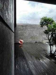 Basalt terrace
