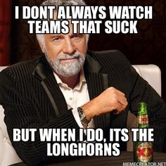 I want to hate this because I love the Longhorns, but I seriously couldn't stop laughing...