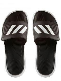 863620d0ed3906 Adidas - Men s Alphabounce Slide Sandals - White Core Black White