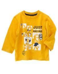 NWT - Gymboree Crazy8 Toddler Boys size 6/12 months Monkey tee shirt - FREE SHIPPING