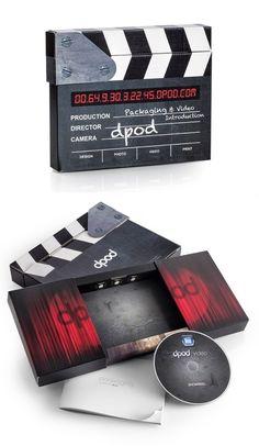 Cardboard Clapper Board   Packaging of the World