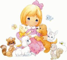 Precious Moments Quotes, Precious Moments Coloring Pages, Precious Moments Figurines, Comic Pictures, Cute Pictures, Android Theme, Sweet Pic, Holly Hobbie, Cute Comics