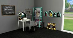 Toddlers / Kids Study Corner for The Sims 4