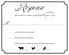 5 types of wedding rsvp card wording response cards wedding rsvp 18 wedding rsvp wording ideas stopboris Image collections