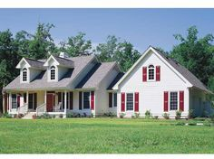 Country House Plan with 1864 Square Feet and 3 Bedrooms from Dream Home Source | House Plan Code DHSW01437