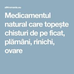 Medicamentul natural care topește chisturi de pe ficat, plămâni, rinichi, ovare 1 Weird Trick Forces Your Body To Stop Acid Reflux and Heartburn Faster Than You Ever Thought Possible! Stop Acid Reflux, Heartburn, Simple Way, Good To Know, Cancer, Health Fitness, Thoughts, Weird, Google