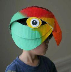 Máscaras de Papelão