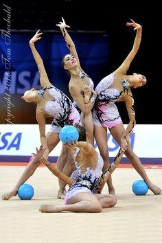 ESPAÑA - rhythmic gymnastics teams