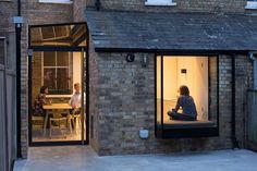 Space-Program Architects Oxford Glass Box Window Seat Oriel Window Side Return Victorian House