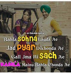 Punjabi Attitude Quotes, Punjabi Love Quotes, Indian Quotes, True Feelings Quotes, Reality Quotes, Desi Quotes, Lyric Quotes, Relationship Quotes, Life Quotes