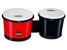 """Meinl 6.5-inch + 7.5-inch ABS Bongo by Meinl Percussion. $58.95. 6.5"""" + 7.5"""" ABS Bongo. Save 26%!"""