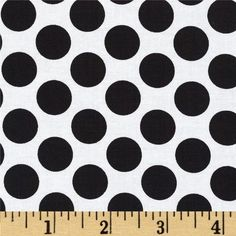 Peppermint Penguin Dot Black from @fabricdotcom  Designed by Lucie Crovatto for StudioE Fabrics, this cotton print fabric is perfect for quilting, apparel and home decor accents. Colors include white and black.