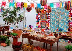 Ideias de painel de fundo para festa junina - Guia Tudo Festa - Blog de Festas - dicas e ideias!