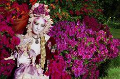 Miles Aldridge - Blooming, Vogue Italia 2007  #milesaldridge #blooming #vogueitalia #vogue #fashion