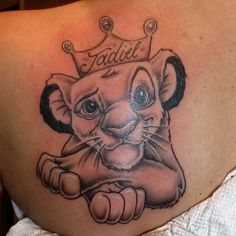 f18c1ec9c on its head and the name on the back may be the symbol of a beloved .  Tattoomaze · Disney Lion King Tattoos
