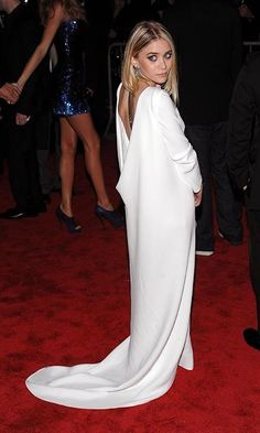 """2009: For the """"The Model as Muse: Embodying Fashion"""" gala, Ashley Olsen subverted the theme by donning one of her own designs. - Met Gala: The 30 best gowns of all time"""