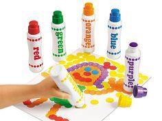 Regular Dot Art Painters - 6-Color Set at Lakeshore Learning