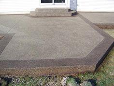 Stamped Concrete, Driveways, Patios, Foundations, Decorative Concrete