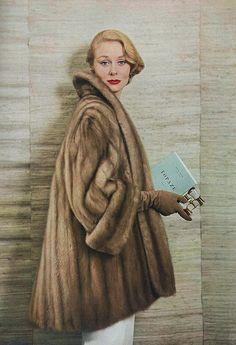 September Vogue 1952 by Roger Prigent