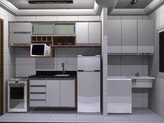 cozinha + lavanderia - Pesquisa Google