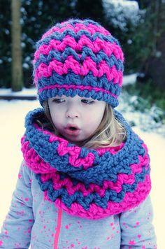 Soft Winter set ~ free pattern