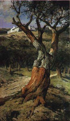 PORTUGAL - 12 factos curiosos que nem todos conhecem: (3)⇔ O SOBREIRO é uma das poucas árvores nativas que ainda existem em Portugal. Por causa da vasta utilização da sua casca macia e esponjosa o país tornou-se o maior produtor de objectos de cortiça do mundo. Mais da metade da cortiça do mundo é produzida em Portugal. -VORTEXMAG.NET Esta imagem do sobreiro é uma das obras do nosso Rei D. Carlos