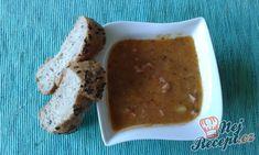 Jednoduchý bramborový guláš   NejRecept.cz Side Dishes, Pudding, Desserts, Food, Author, Tailgate Desserts, Deserts, Custard Pudding, Essen