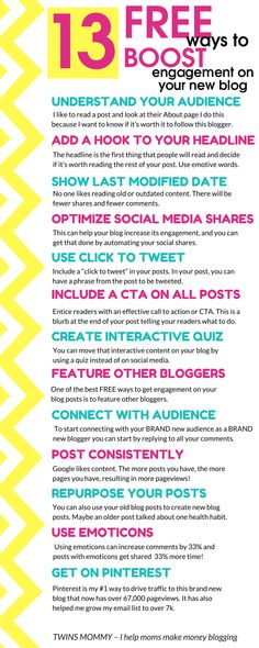 Need to increase your blog traffic? 13 tips to boost engagement to your website and blog, for increasing pageviews on your blog and for growing your visibility  gain new followers and get more engagement   drive traffic to your blog   increase engagement on your blog   how to use Pinterest to boost engagement to your website