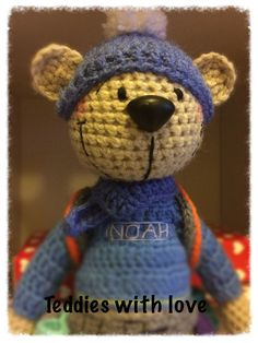 Teddies with love Crochet Teddy, Teddy Bear, Toys, Animals, Activity Toys, Animales, Animaux, Clearance Toys, Teddy Bears