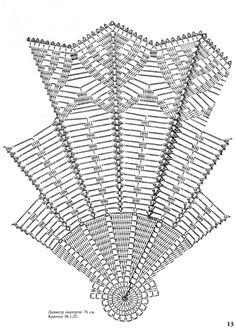 Moje Heklanje By Rada 86 Crochet Tablecloth Pattern, Crochet Doily Diagram, Crochet Doily Patterns, Crochet Chart, Thread Crochet, Filet Crochet, Crochet Motif, Crochet Stitches, Crochet Home