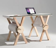 roll paper desk - anon