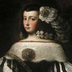 ca. 1677 Felice de la Cerda y Aragón, Marquesa de Priego from fundacionmedinaceli.org