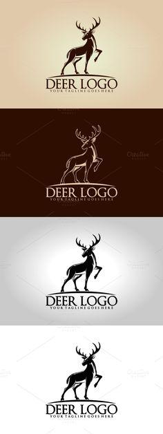 Deer Logo. Logo Templates. $30.00