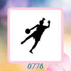 A personal favorite from my Etsy shop https://www.etsy.com/listing/223191612/soccer-player-silhouette-reusable-craft
