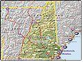 I-95 New Hampshire map