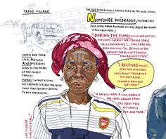 Olivier Kugler visits Burkina Faso to produce a series of drawings highlighting the food crisis in the Sahel.