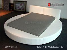 bed sb016, platform beds, design queen, queen round
