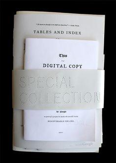 Special Collection - Benjamin Shaykin / graphic design